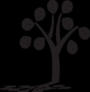 Tree Silhouette Tree With Shadow  - AnnaliseArt / Pixabay